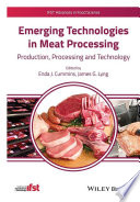 Emerging Technologies in Meat Processing Book