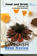 Food and Drink in Sweden and Swedish Literature