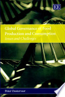 Global Governance of Food Production and Consumption Book