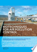 Biotechniques for Air Pollution Control