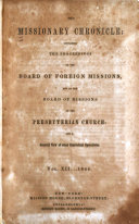Missionary Chronicle