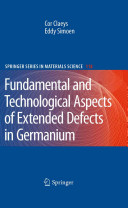 Extended Defects in Germanium
