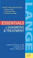 Essentials of Diagnosis   Treatment