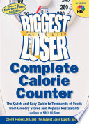 The Biggest Loser Complete Calorie Counter