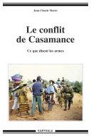Pdf Le conflit de Casamance. Ce que disent les armes Telecharger