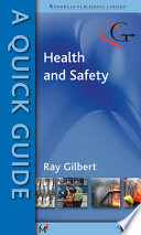 A Quick Guide To Health And Safety Book PDF
