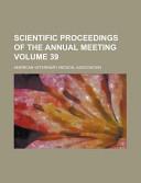 Scientific Proceedings Of The Annual Meeting