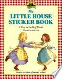 My Little House Sticker Book
