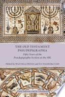 The Old Testament Pseudepigrapha