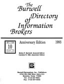 The Burwell Directory Of Information Brokers