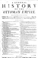 A General History of the Ottoman Empire