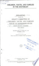 Children Youth And Families In The Southeast