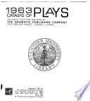 Catalog of Plays