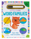 Let s Learn  First Word Families Book