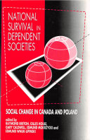 Pdf National Survival in Dependent Societies Telecharger
