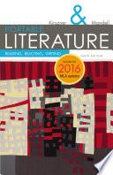 Portable Literature Reading Reacting Writing 2016 Mla Update