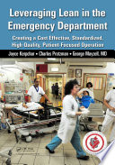 Leveraging Lean in the Emergency Department Book