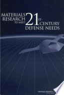 Materials Research to Meet 21st Century Defense Needs Book
