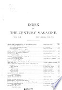 The Century Illustrated Monthly Magazine Book