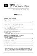 International Journal of Sport Biomechanics
