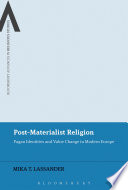 Post Materialist Religion