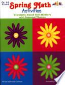 Seasonal Math Activities   Spring  ENHANCED eBook  Book