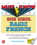 Must Know High School Basic French Book