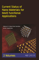 Current Status of Nano Materials for Multi Functional Applications  2 Volumes  Book