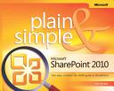 Microsoft SharePoint 2010 Plain   Simple