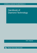 Handbook of Diamond Technology Book