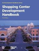 Shopping Center Development Handbook