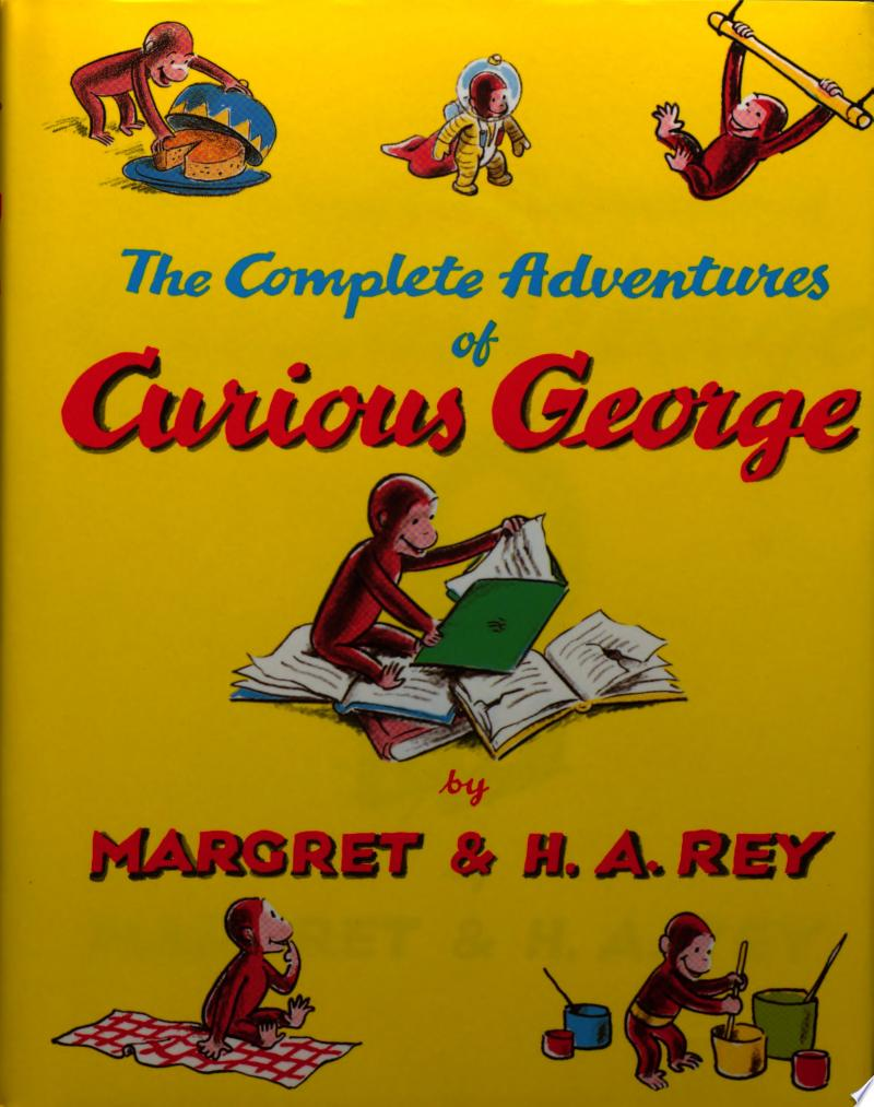 The Complete Adventures of Curious George banner backdrop