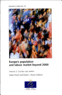 Pdf Europe's Population and Labour Market Beyond 2000