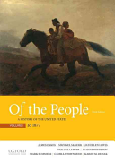 link to Of the People: A History of the United States, Volume 1: To 1877 in the TCC library catalog