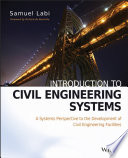Introduction to Civil Engineering Systems Book