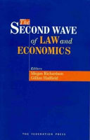 The Second Wave of Law and Economics