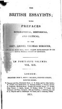 The British Essayists: Rambler