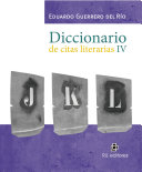 Diccionario de citas literarias IV