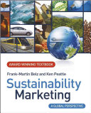 Cover of Sustainability Marketing