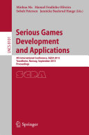 Pdf Serious Games Development and Applications