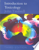 """""""Introduction to Toxicology, Third Edition"""" by John Timbrell"""