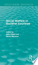 Social Welfare in Socialist Countries