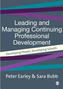 Leading and Managing Continuing Professional Development