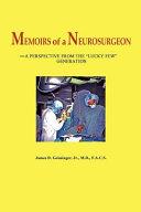 Memoirs of a Neurosurgeon Book