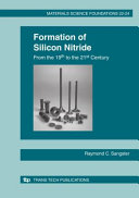 Formation of Silicon Nitride from the 19th to the 21st Century Book