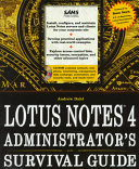 Lotus Notes 4 Administrator s Survival Guide