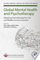 Global Mental Health and Psychotherapy