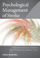 Psychological Management of Stroke Pdf/ePub eBook