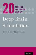 20 Things to Know about Deep Brain Stimulation Pdf/ePub eBook