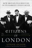 Citizens of London Book PDF